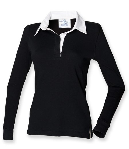 Front Row - Ladies Classic Rugby Shirt